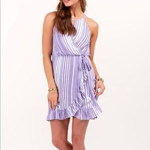 Francesca's Harper Wrap Dress